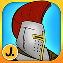 iPad Apps to the Rescue for Fun Travel with Young Kids | Sticker Play: Knights, Dragons and Castles - Premium - Fun Creative Play App for Kids