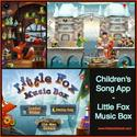 Creating with Children and iPad Apps | Children's iPad Song App, Little Fox Music Box