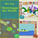 Creating with Children and iPad Apps | Children's Mac App, Chocolapps Art Studio
