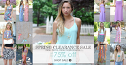 Top 10 Summer Web Designs - Vote Now | Vestique - a women's boutique dress shop