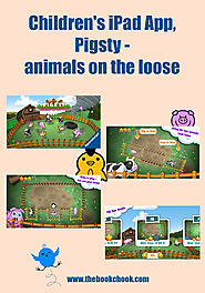 Children's iPad App, Pigsty - animals on the loose