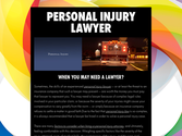 Personal Injury Law Attorney | Los Angeles Personal Injury Lawyer