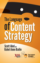 Content Strategy Books | The Language of Content Strategy