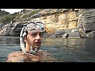Portovenere - Italy - Snorkeling at sunset