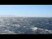 Sailing through Strait of Gibraltar on MV Discovery