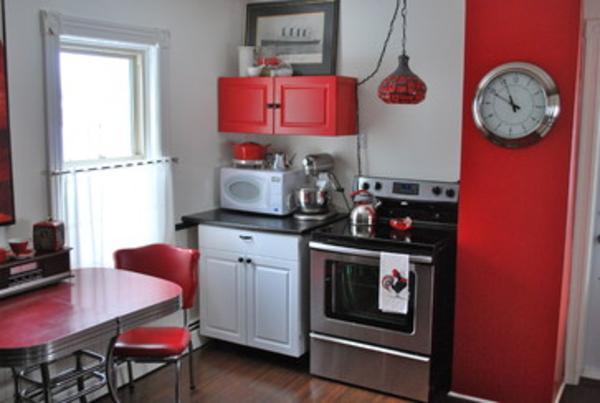 Black And Red Kitchen Accessories And Appliances A