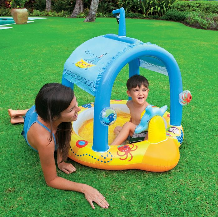 Best swimming pools for kids 2015 top kiddie pool reviews a listly list 3 month old baby swimming pool