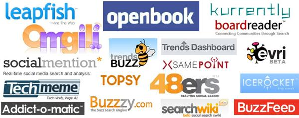 The Ultimate List of Trending, Real Time Search, and Social Search Websites via @YouBrandInc