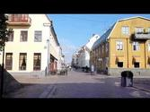 Entering the Beautiful Old Town of Kalmar Sweden