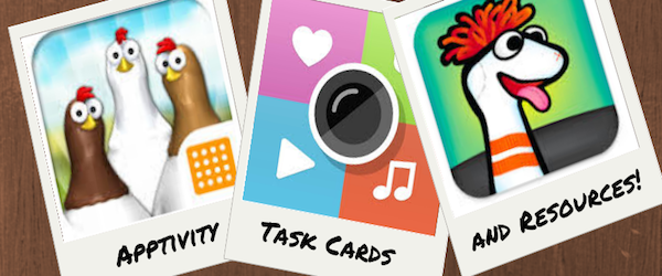 Listly List - Apptivity Task Cards and Resources