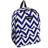 Chevron Print Backpacks for Girls | Best colors of Aqua, Pink, Purple and more | Best Chevron Backpacks for Girls - Great Selection of Styles and Colors
