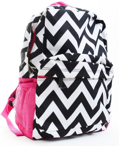 Headline for Chevron Print Backpacks for Girls | Best colors of Aqua, Pink, Purple and more