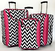 Best Chevron Luggage | Chevron Rolling Luggage, Carry On and Duffel Bags | Best Chevron Luggage | Chevron Sets, Rolling Luggage and Carry On