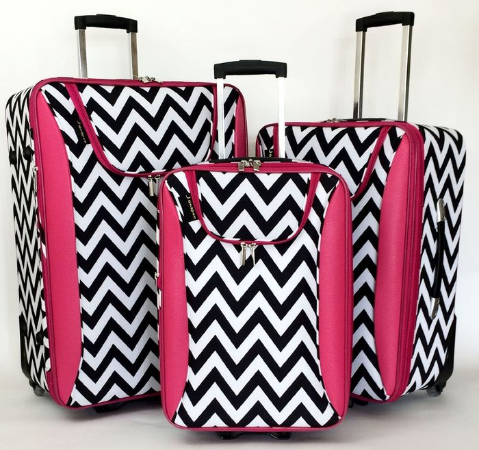 Best Chevron Luggage Sets - Chevron Rolling Luggage and Carry On Reviews cover image