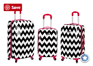 Best Chevron Luggage | Sets - Rolling Luggage or Carry On Sets
