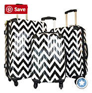 Best Chevron Luggage | Chevron Rolling Luggage, Carry On and Duffel Bags | Chevron Luggage Sets, Rolling Luggage, Carry On Luggage
