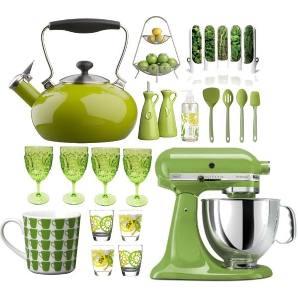Lime Green Kitchen Ideas: Best Lime Green Kitchen Accessories