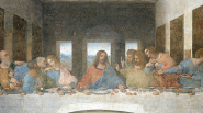 16 Great Artists of the Renaissance   leonardo davinci last supper1 537x300 185px