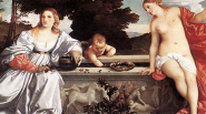 16 Great Artists of the Renaissance   tiziano vecellio da cadore titian sacred and profane love1 537x300 185px