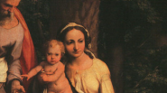 16 Great Artists of the Renaissance   antonio da correggio the rest on the flight to egypt with saint francis1 537x300 185px