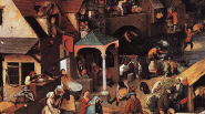 16 Great Artists of the Renaissance   pieter bruegel the elder netherlandish proverbs1 537x300 185px