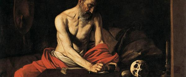 16 Great Baroque Painters   caravaggio st jerome 2 9277999364