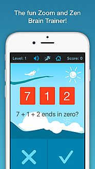 Top Educational iPad games | Zero – The zoom and zen number game