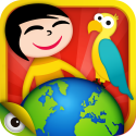 Top Educational iPad games | Kids Planet Discovery - games and videos to travel and learn about the world's geography, nature and cultures