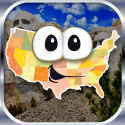 Top Educational iPad games | Stack the States™ By Dan Russell-Pinson