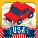 Top Educational iPad games | Geography Drive USA™ By Spinlight Studio