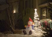 Christmas Decorating Fun | Christmas Outdoor Inflatables