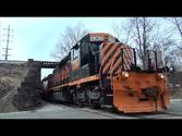 Tresspasser on the Wheeling And Lake Erie Railway