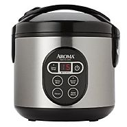 Digital Aroma Rice Cooker and Food Steamer Reviews 2016 | Aroma Housewares ARC-914SBD Cooked 8-Cup Digital Rice Cooker Steamer with Stainless Steel Exterior