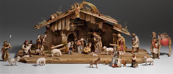 headline for best tabletop nativity sets reviews - Wooden Nativity Set