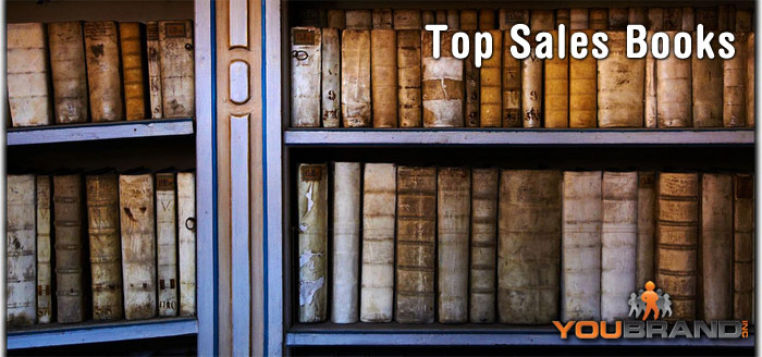 Top Sales Books via @YouBrandInc