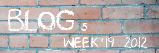 My Favourite Blog Posts of Week 49, 2012