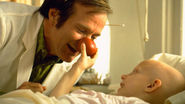 In and as Patch Adams (1998)