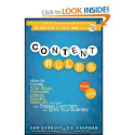 Books for Community Managers | Content Rules: How to Create Killer Blogs, Podcasts, Videos, Ebooks, Webinars (and More)