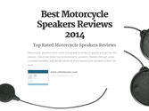 Top 9 Best Rated Motorcycle Speakers Reviews | Best Motorcycle Speakers Reviews 2014