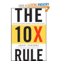 Top Books That Could Change Your Life | The 10X Rule: The Only Difference Between Success and Failure: Grant Cardone