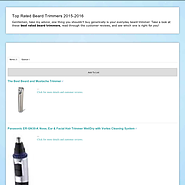Top 10 Best Rated Beard Trimmers Reviews | Top Rated Beard Trimmers 2014