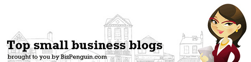 Headline for Top Small Business Blogs