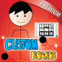 Custom Boards- Premium By Smarty Ears
