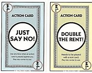 Monopoly card game rules