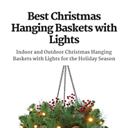[NEW] Beautiful and Affordable Christmas Hanging Baskets with Lights. LinkHubb