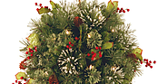 [NEW] Christmas Hanging Baskets with Lights - Best