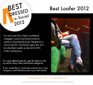 Digital Dash - Ted Rubin for the win for the Best Loafer 2012. ...