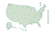 EPA: Facility Level Green House Gas Emissions Data (MAP)
