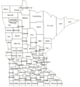 County Health Rankings: Health Outcomes in Minnesota (MAP)
