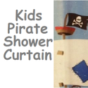 Best Kids Pirate Shower Curtain for the Pirate Bathroom Decor